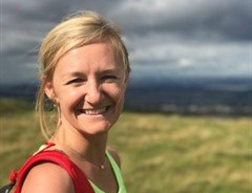 Well Grounded Chair, Lindsey MacDonald, is walking for 26.2 hours on a treadmill this weekend. Find out why..